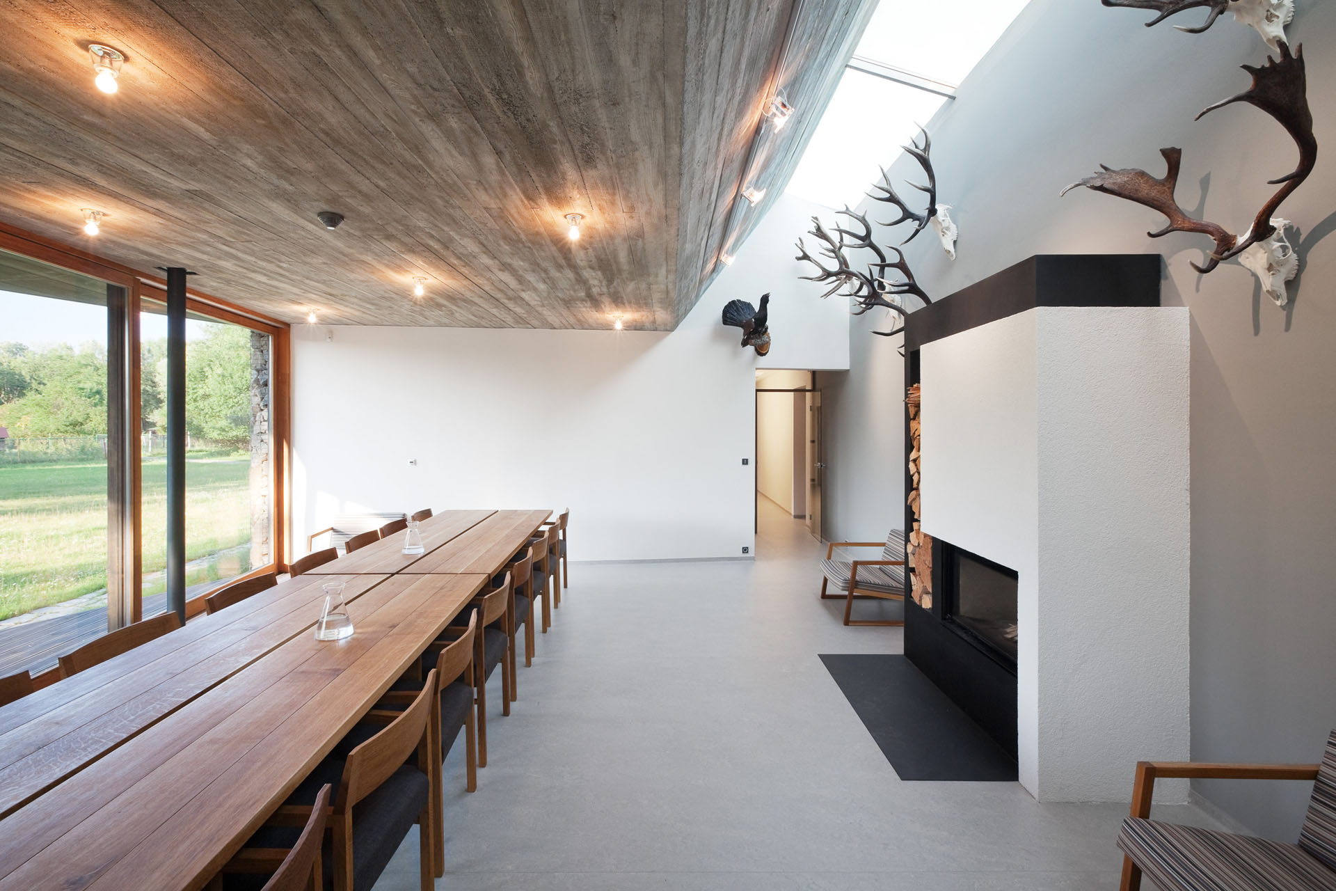 Professional photography from Lukas Pelech Atelier. HUNTING LODGE, CZECH REPUBLIC